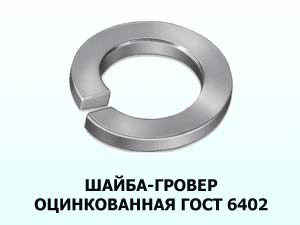 Шайба 5 оцинкованная ГОСТ 6402-70